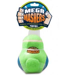 """R2P игрушка для собак Mega Masher """"Кегля"""" 14 х 10 см вспененная резина с покрытием теннисного мяча"""