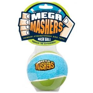 """R2P игрушка для собак Mega Masher """"Мячик"""" 8 см вспененная резина с покрытием теннисного мяча"""