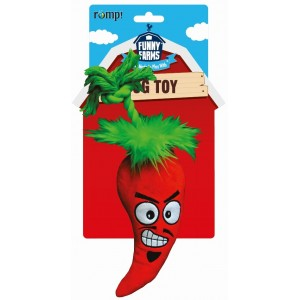 """R2P игрушка для собак Funny Farms """"Перчик Чили"""" малая текстиль 25 см"""