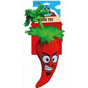"""R2P игрушка для собак Funny Farms """"Перчик Чили"""" большая текстиль 30 см"""