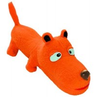 Игрушка Hunter Smart Squeezy Dog, 25см, латекс