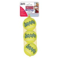 """Игрушка KONG для собак Air """"Теннисный мяч"""" маленький (в упаковке 3 шт) 5 см"""