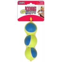 Игрушка KONG для собак Ultra Squeak мячик средний 3 шт. в уп. 6 см
