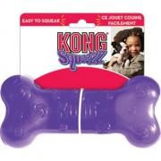 Игрушка для собак Kong Сквиз Косточка, 15 см средняя
