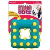 Игрушка KONG для собак Dotz квадрат большой 13 см
