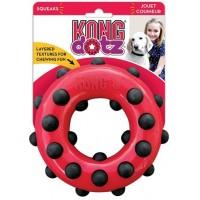 Игрушка KONG для собак Dotz кольцо малое 9 см