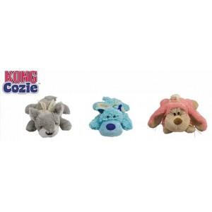"""Kong игрушка для собак """"Кози Пастель"""" (волк, коала, кролик) плюш, средние 23 см"""
