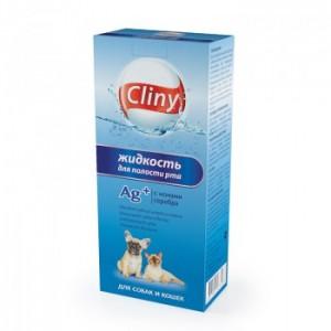 Жидкость для полости рта Cliny для собак и кошек, 300мл