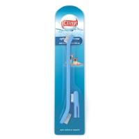 Зубная щетка Cliny + массажер для десен для собак и кошек