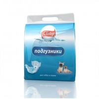 Подгузники Cliny L для собак и кошек, 8шт