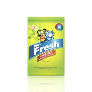 Салфетки Mr. Fresh влажные антибактериальные