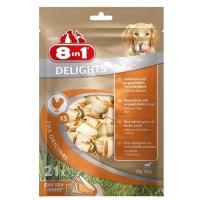 Косточка 8in1 DELIGHTS XS для мелких собак 21шт