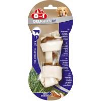 Косточка 8in1 DELIGHTS Beef S с говядиной для мелких и средних собак