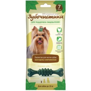 """""""Зубочистки"""" Мятные для собак мелких пород 60 г"""