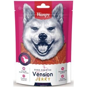 Лакомство для собак Wanpy  филе из оленины, 100г