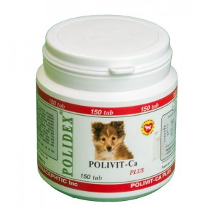 POLIDEX® Polivit-Ca plus 150 Tab (Полидэкс Поливит-Кальций плюс)