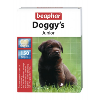 Витамины Beaphar Doggy's Junior для щенков, 150таб