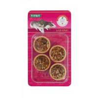 Тарталетки для крыс TiTBiT с кабачком и фундуком