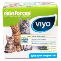 Пребиотик Viyo Reinforces для кошек 7х30 мл