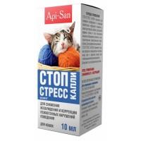 Капли Стоп-Стресс для кошек 10мл