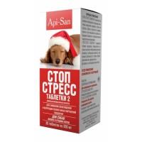 Таблетки Стоп-Стресс для собак мелких и средних пород