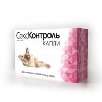 Капли СексКонтроль RolfClub для кошек, 3мл