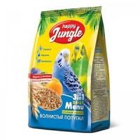 Корм для волнистых попугаев Happy Jungle,  500 г