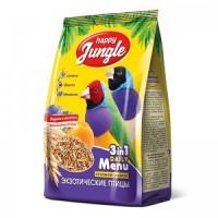 Корм для экзотических птиц Happy Jungle,  500 г