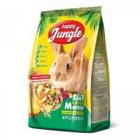 Корм для кроликов Happy Jungle