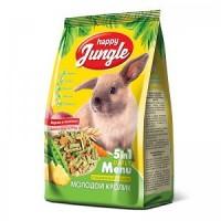 Корм для для молодых кроликов Happy Jungle, 400г