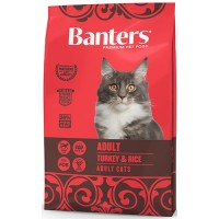Banters Adult корм для кошек, индейка с рисом