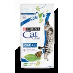 Cat Chow для кошек 3в1, 15кг