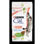 Cat Chow для кошек, чувствительное пищеварение, 15кг