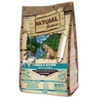 Natural Greatness Fild & River для взрослых кошек с лососем и ягнёнком