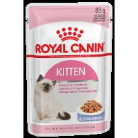 Royal Canin Kitten Instinctive (в желе), для котят. 85г