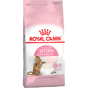 Корм Royal Canin Kitten Sterilised для стерилизованных котят до года, 2кг