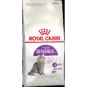 Royal Canin SENSIBLE 33 для кошек с чувствительной пищеварительной системой в возрасте с 1 года до 7 лет, 4кг