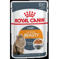 Royal Canin Intense Beauty (в желе) для поддержания красоты шерсти кошек. 85г