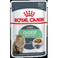 Royal Canin Digest Sensitive в соусе, для кошек с чувствительным пищеварением, 85г