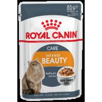 Royal Canin Intense Beauty (в соусе) для поддержания красоты шерсти кошек. 85г