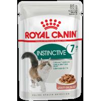 Royal Canin Instinctive +7 (в соусе) для кошек старше 7 лет. 85г