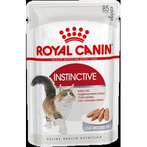 Упаковка из 12 шт Royal Canin Instinctive в паштете для взрослых кошек от 1 года до 7 лет.