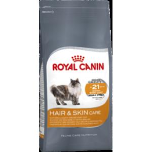 Корм Royal Canin Hair & Skin Care для кошек, кожа и шерсть