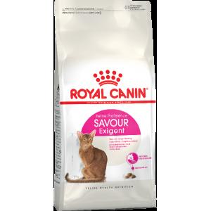 Royal Canin Savour Exigent для кошек в возрасте от 1 года до 12 лет, привередливых к вкусу продукта, 4кг