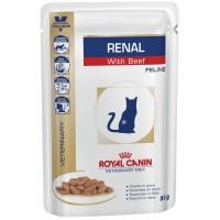 Royal Canin Renal Feline для кошек с хронической почечной недостаточностью, 0,085г