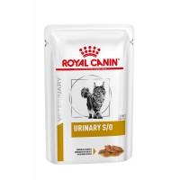 Royal Canin Urinary S/O для кошек при мочекаменной болезни (кусочки в соусе) 0,085г