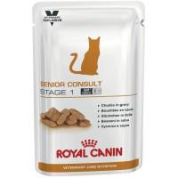Royal Canin Senior Consult Stage 1, для котов и кошек старше 7 лет, 0,1кг