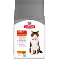 Hill's SP для кошек, вывод шерсти
