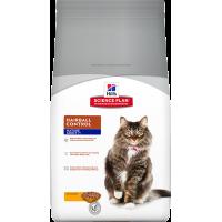 Hill's SP для пожилых кошек, вывод шерсти, 1,5кг