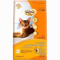 Мнямс для стерилизованных кошек, с индейкой